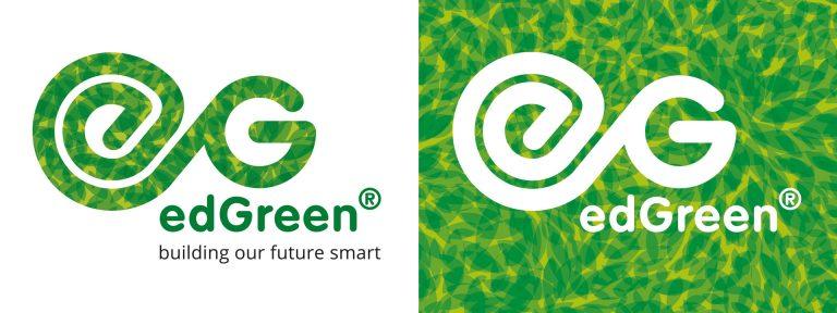 EdGreen groene wanden logodesign huisstijlontwikkeling